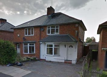 Thumbnail 3 bed semi-detached house for sale in Uffculme Road, Birmingham