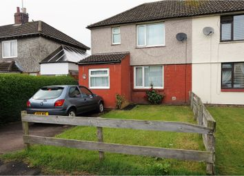 Thumbnail 3 bed semi-detached house for sale in St. Georges Crescent, Alnwick