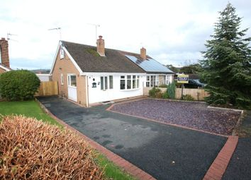 Thumbnail 3 bed semi-detached bungalow for sale in Midfield Close, Gillow Heath, Biddulph
