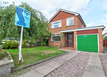 Thumbnail 3 bed detached house for sale in Holyrood Drive, Wistaston, Crewe