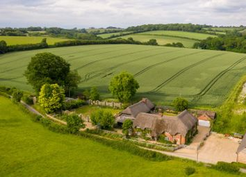 Thumbnail 6 bed detached house for sale in Henley, Marlborough, Wiltshire