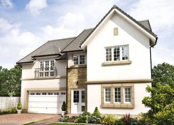 """Thumbnail 5 bed detached house for sale in """"Garvie"""" at Penicuik Road, Roslin"""