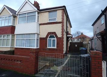 Thumbnail 2 bed flat to rent in Oxford Road, Thornton-Cleveleys