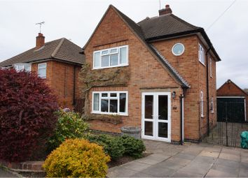 Thumbnail 3 bed detached house for sale in Grangeway Road, Wigston