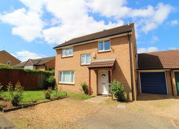 Thumbnail 4 bed detached house for sale in Gilbert Close, Kempston, Bedford
