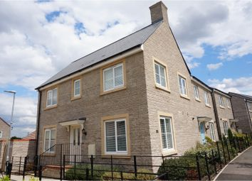 Thumbnail 3 bed semi-detached house for sale in Cowleaze, Swindon