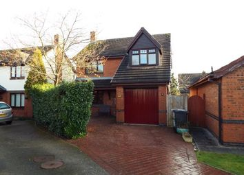 Thumbnail 4 bed detached house for sale in Fourseasons Close, Crewe, Cheshire