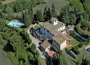Thumbnail 9 bed villa for sale in San Casciano Val di Pesa, Tuscany, Italy