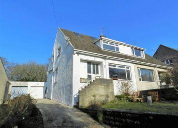 Thumbnail 3 bed semi-detached house for sale in Wernddu, Sarn, Bridgend