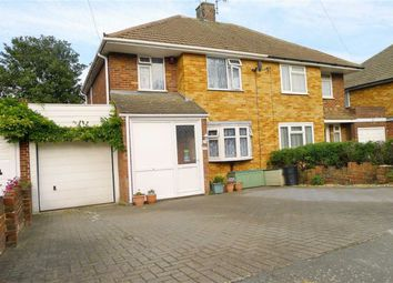 Thumbnail 3 bed semi-detached house to rent in Taverners Road, Rainham, Gillingham