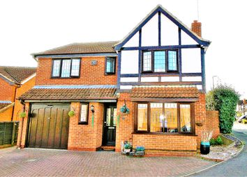 Thumbnail 4 bed detached house for sale in Larkspur, Rugby