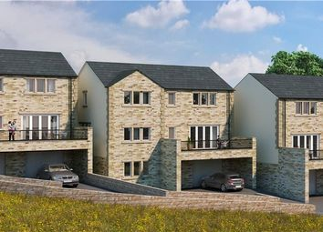 Thumbnail 4 bedroom detached house for sale in Branshaw Garden, Oakworth, Keighley
