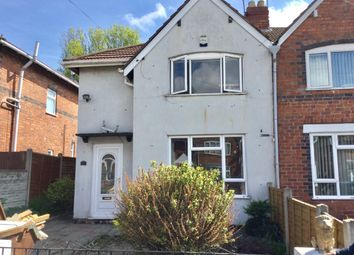 Thumbnail 3 bed semi-detached house to rent in Brockhurst Street, Walsall