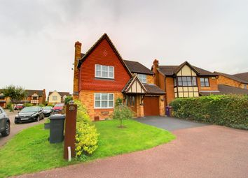 Thumbnail 4 bed detached house for sale in Bessemer Close, Hitchin