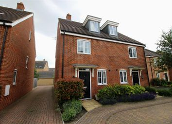 Thumbnail 3 bed semi-detached house for sale in Selwood Close, Swindon