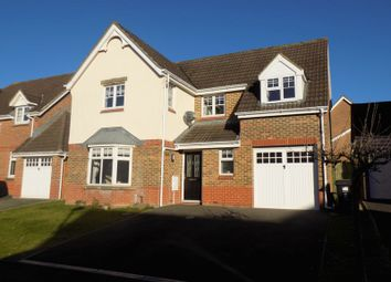 Thumbnail 4 bed detached house for sale in Garson Road, Swindon