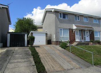 Thumbnail 3 bedroom semi-detached house for sale in Rustic Close, Sketty, Swansea, City And County Of Swansea.