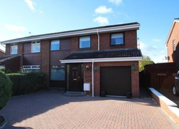 Thumbnail 4 bed semi-detached house for sale in Tiree Crescent, Polmont, Falkirk
