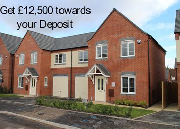 Thumbnail 3 bed semi-detached house for sale in Whitley Avenue, Amington, Tamworth