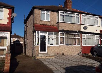 Thumbnail 4 bedroom semi-detached house to rent in Wood End Way, Northolt
