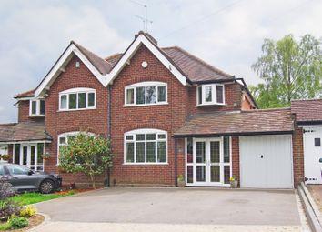 Thumbnail 3 bed semi-detached house for sale in Groveley Lane, Cofton Hackett