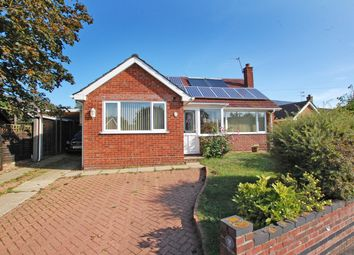 Thumbnail 3 bed detached house for sale in Park Close, Thurton, Norwich
