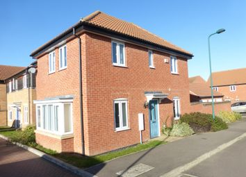 Thumbnail 4 bed detached house for sale in Steward Way, Gunthorpe, Peterborough