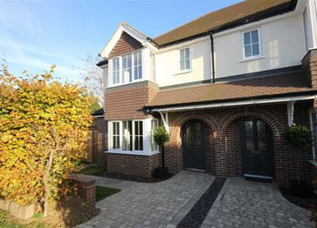 Thumbnail 4 bedroom semi-detached house for sale in Sibley Avenue, Harpenden, Hertfordshire