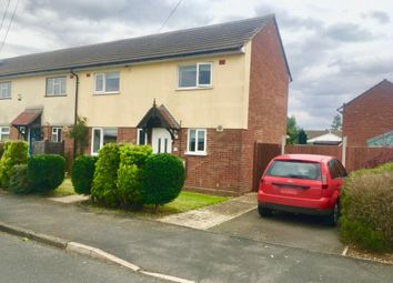 Thumbnail 2 bed semi-detached house for sale in Trent Road, Wittering, Peterborough
