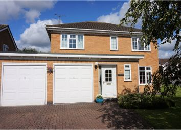 Thumbnail 4 bed detached house for sale in Birdie Close, Kibworth