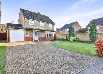 Thumbnail 4 bedroom detached house for sale in Bramley Road, Dereham