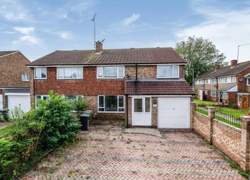 Thumbnail 4 bedroom semi-detached house for sale in Butely Road, Luton