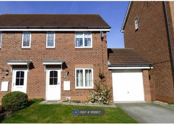 Thumbnail 3 bed semi-detached house to rent in Langthwaite Close, Brough