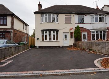 Thumbnail 3 Bed Semi Detached House For Sale In Ansley Road Nuneaton