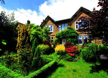 Thumbnail 4 bed detached house for sale in Woodside Road, Huddersfield, West Yorkshire