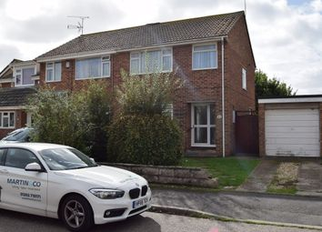 Thumbnail 3 bed semi-detached house to rent in Harkwood Drive, Hamworthy, Poole