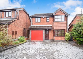 Thumbnail 4 bed detached house for sale in Westacre Drive, Church Gresley, Swadlincote