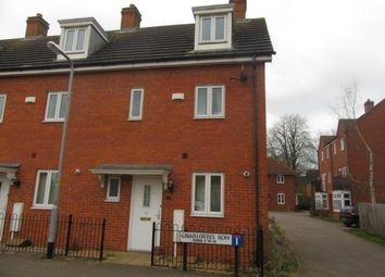Thumbnail 3 bed end terrace house to rent in Charlottes Row, Rushden