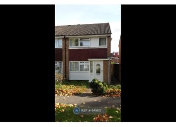Thumbnail 3 bed semi-detached house to rent in Lake Road, Romford