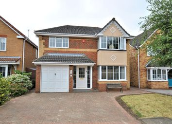 Thumbnail 4 bed detached house for sale in Sandover Close, West Winch, King's Lynn