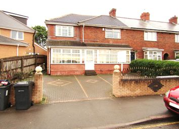 Thumbnail 5 bedroom end terrace house for sale in Drews Lane, Ward End, Birmingham