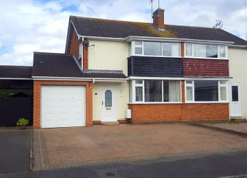 Thumbnail 3 bedroom semi-detached house to rent in Grasmere Grove, Stourport-On-Severn