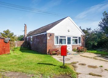 Thumbnail 3 bedroom detached bungalow for sale in Crowden Road, Bush Estate, Eccles-On-Sea, Norwich