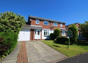 Thumbnail 3 bed semi-detached house to rent in Home Park, Wallsend