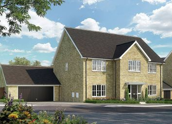 "Thumbnail 5 bed detached house for sale in ""The Samville_Brick"" at Bury Water Lane, Newport, Saffron Walden"