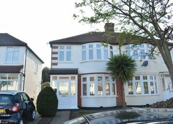 Thumbnail 3 bed semi-detached house to rent in Marlow Drive, North Cheam, Sutton