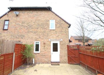 Thumbnail 1 bed end terrace house to rent in Burdock Close, Lightwater