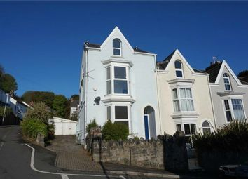 Thumbnail 4 bed end terrace house for sale in Woodville Road, Mumbles, Swansea
