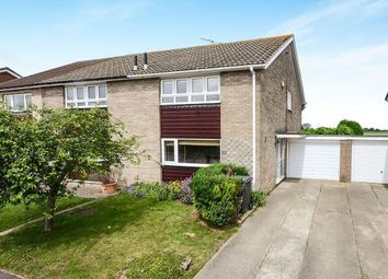 Thumbnail 3 bed semi-detached house to rent in Windsor Drive, Wigginton, York