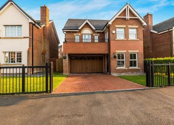 Thumbnail 5 bed detached house for sale in Carrwood Way, Walton Park, Preston.
